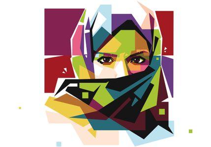 Hijab Woman - Moslem Life - WPAP