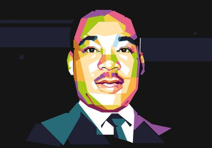 Martin Luther - Hollywood Style - WPAP