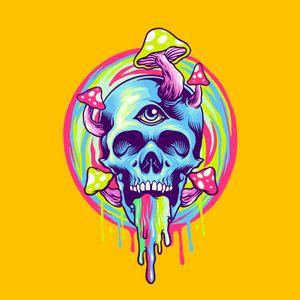 skull-magic-mushroom